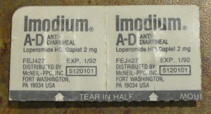 Imodium expiration date January 1992