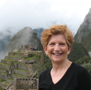 Sharon ODay at Machu Picchu